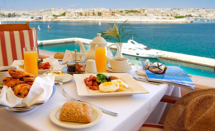 Breakfast On Balcony