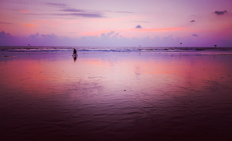 """Sunset on Baga Beach"""