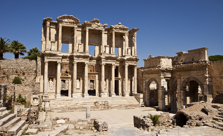 """Library Building At Ephesus"""